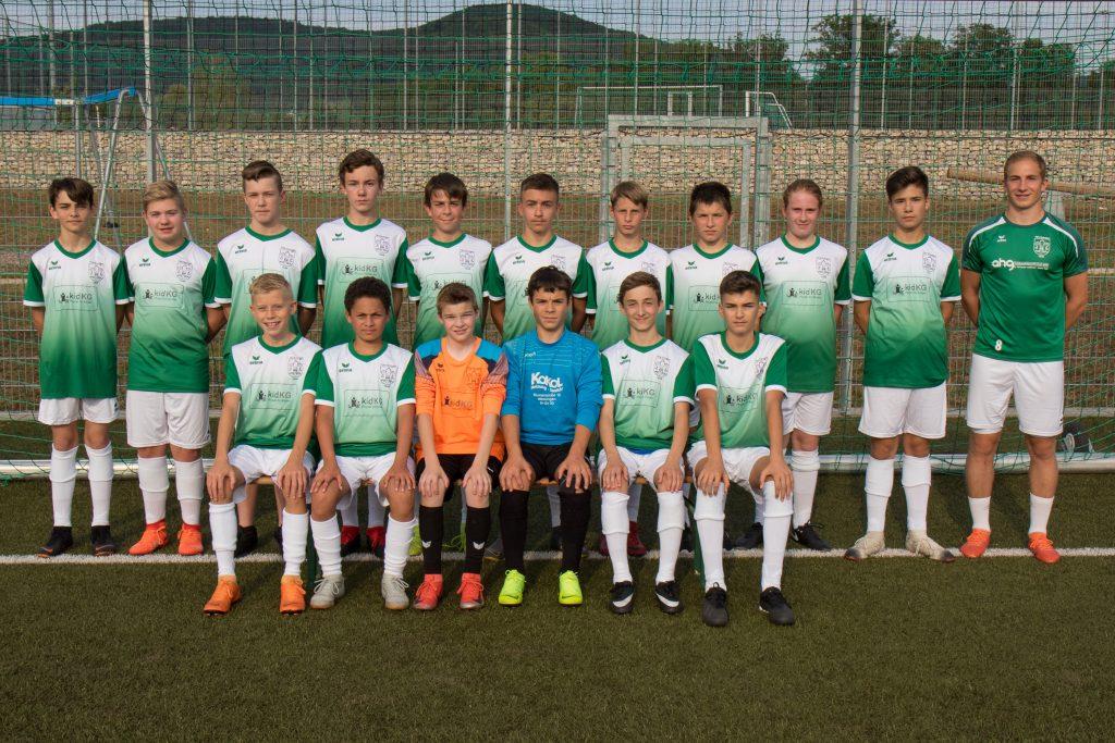 Fußball Mannschaftsfoto C Jugend 009