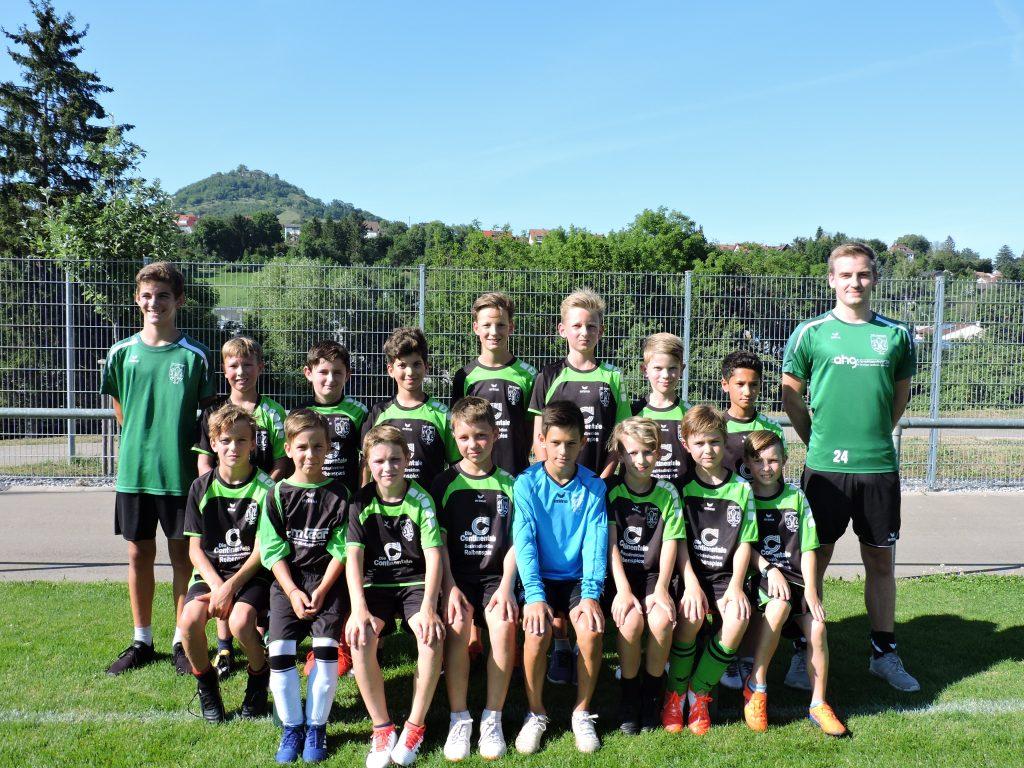 Mannschaftsfoto E-Jugend