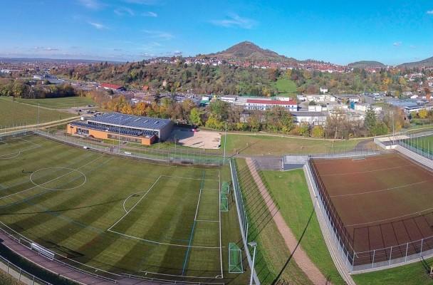 Sportgelände im Arbachtal