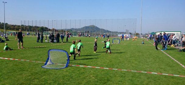 Impressionen Bambinispieltag 23 September im Arbachtal