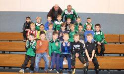 Hallenturnier der F-Jugend in der Günther-Zeller-Halle
