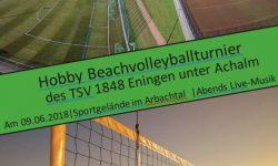 Einladung zum dritten Beachvolleyball  – Turnier der Fußballabteilung